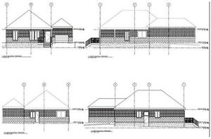 Residential building permits drawings, BCIN stamp