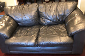 Free Leather Couch Set