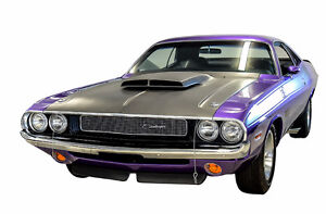 Dodge Challenger T/A, 1970