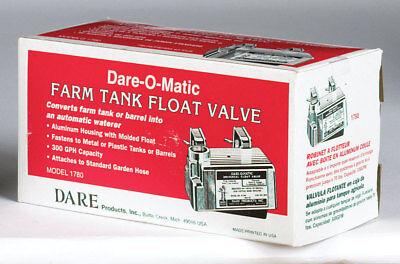 Dare-o-matic Aluminum Farm Tank Float Valve 300gph Sku 42757