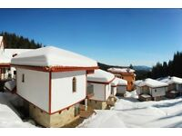 Two-bed detached ski chalet in Pamporovo, Rhodope Mountains, Bulgaria.