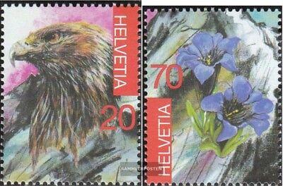 Schweiz 1836-1837 (kompl.Ausg.) FDC 2003 Briefmarkenausstellung