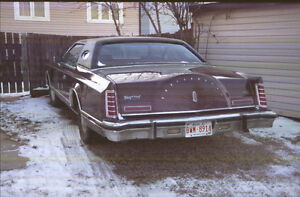 1977 Lincoln Mark 5 only 51,185 original  km.all offer or trades