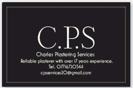CPS PLASTERING SERVICES