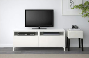 IKEA BESTA White TV Unit with drawers, TV stand, media console
