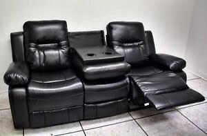 Brand New Bonded Leather Reclining Couch Set! Rustic Chest, Dresser and Mirror Set! Night Stands,Tables and more!