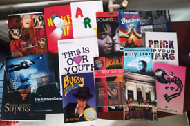Selection of free unsigned theatre programs