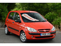 Hyundai Getz 1.4 auto GSi 2006 MY. AUTOMATIC. RED.
