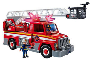 PLAYMOBIL City action Fire Rescue Station & Ladder London Ontario image 2