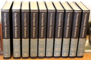 """Leather-Bound """"Encyclopedia Brittanica"""" 14th Ed., 30 Volumes"""