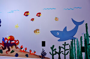 Customized Baby Nursery and Bedroom Murals Stratford Kitchener Area image 2