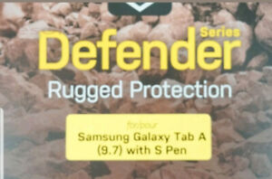 Defender cover case for Samsung galaxy tab A 9.7 with S pen.