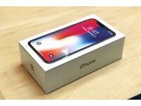Iphone x 256gb new unlocked, unopened