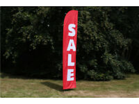 Promote Your Events To Thousands Of Cars Per Day. Put Sail Banners on Private Land. £100 Per MONTH