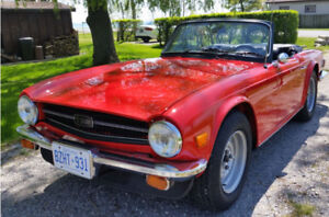 1976 TR6 in mint condition for sale!