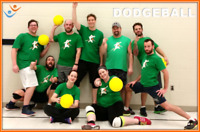 Play Recreational, Co-ed  Dodgeball with FCSSC this Fall!