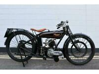 1926 Raleigh 350 Flat tanker Vintage - One family ownership from new!