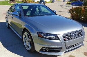 2010 Audi S4 Premium Plus - 6 Speed Manual + Sport Diff Sedan