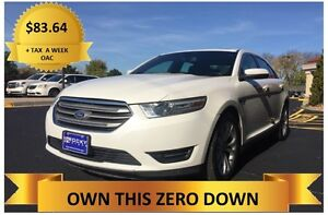 2013 Ford Taurus   ONLY  $83.64 A WEEK + TAX OAC