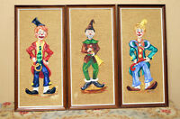 Hand painted Portraits of Clowns SEE VIDEO