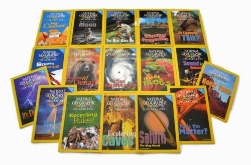17 NATIONAL GEOGRAPHIC Explore Science Readers Grades 2-4 Pioneer Ed Books Kids