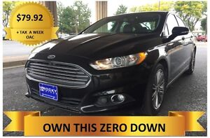 2013 Ford Fusion  LOADED !    ONLY $79.92 A WEEK + TAX OAC - Windsor Region Ontario image 1
