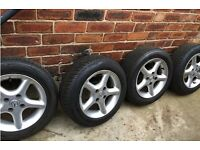 "Mazda Mx5 Alloy Wheels And Tyres 14"" -MK2, MK2.5"