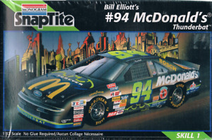 Modèle à coller Monogram McDonald Bill Elliott Thunderbat 94