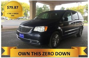 2014 Town & Country  LOADED!    ONLY $79.87 A WEEK + TAX OAC