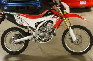 Honda CRF 250 double usage 2014