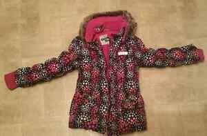 Osh Kosh girls size 7 winter jacket  20.00