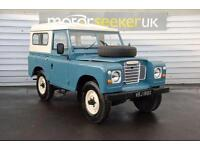 1982 Land Rover Series III recent £4000 renovation completed loads of histor...