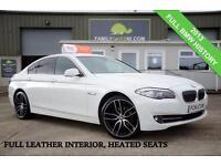 2013 BMW 5 SERIES 2.0 520D 181 BHP *FULL LEATHER INTERIOR* DIESEL