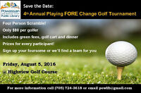 Save the Date: Powassan Library's Golf Fundraiser