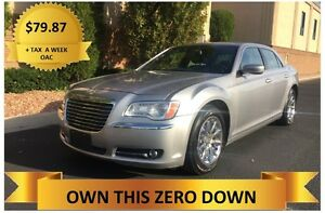 2014 Chrysler 300   ONLY $79.87 A WEEK + TAX OAC