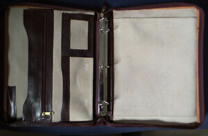 Renwick Leather Padfolio Kitchener / Waterloo Kitchener Area image 3