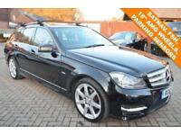 2011 61 MERCEDES-BENZ C CLASS 1.8 C180 BLUEEFFICIENCY SPORT EDITION 125 5D AUTO