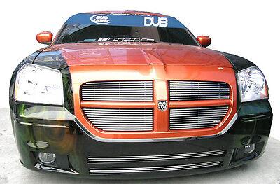 - Precision Grille Dodge Magnum Billet Polished Aluminum Main Grille Inserts Set