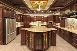 Kitchen Cabinets CLEARANCE! Luxury Cabinets For a LOW PRICE!