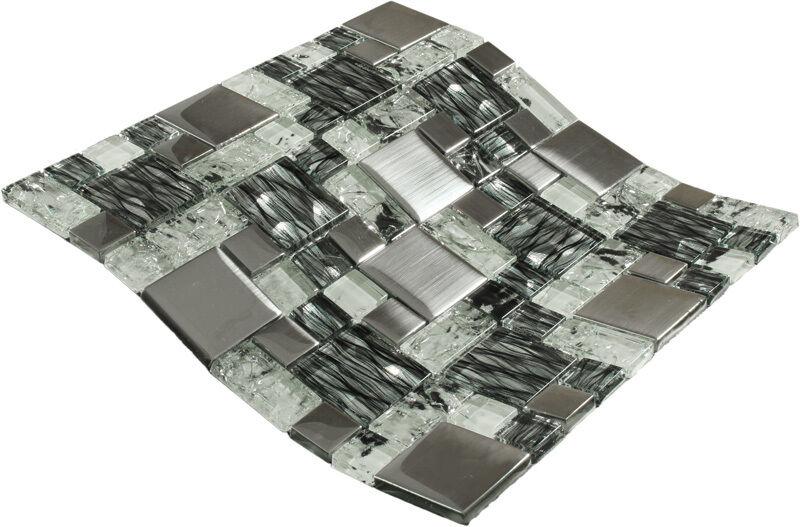mosaikfliesen wei die neuesten innenarchitekturideen. Black Bedroom Furniture Sets. Home Design Ideas
