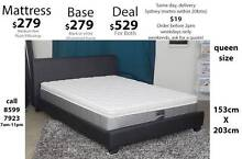Mattress Sale - Queen, King, Double, Singles, frames, bases also Bondi Beach Eastern Suburbs Preview