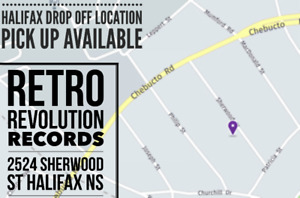 ☆ VINYL RECORD COLLECTIONS ( Drop Off Location - Halifax )