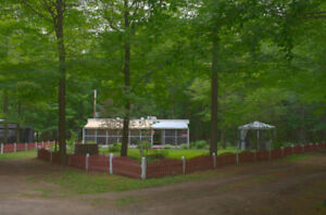 Roulotte Glendale 40 pi. - Camping Donald