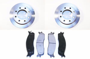 New premium front rotor and pad set for 2003-'08 Ram 2500 & 3500
