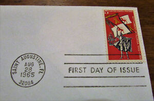 1965 QuadriCentennial First Permanent Settlement First Day Cover Kitchener / Waterloo Kitchener Area image 4