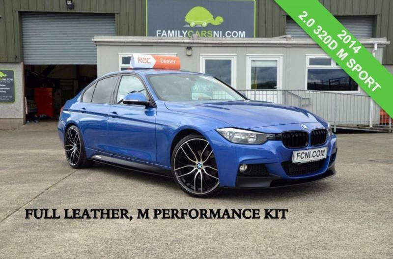 2014 bmw 3 series 2 0 320d m sport 4d 181 bhp full leather interior diesel in ballymena. Black Bedroom Furniture Sets. Home Design Ideas