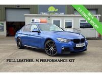 2014 BMW 3 SERIES 2.0 320D M SPORT 4D 181 BHP *FULL LEATHER INTERIOR* DIESEL
