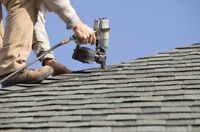 Roof, roofer, roofing needed to roof house.