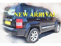 2009 59 JEEP CHEROKEE 2.8 LIMITED 5D AUTO 175 BHP P/X WELCOME FULL SERVICE HIST