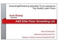 Screeding Top quality Laser Floors Screeders